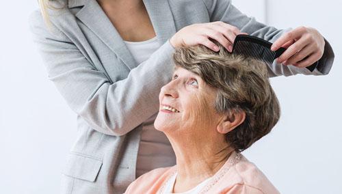 hairdresser for seniors